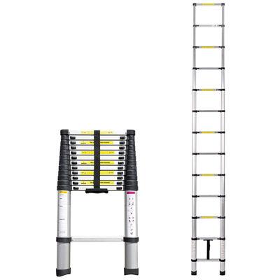 三金商事 はしご 3.8m 伸縮 I型 スライド式 アルミ KT380