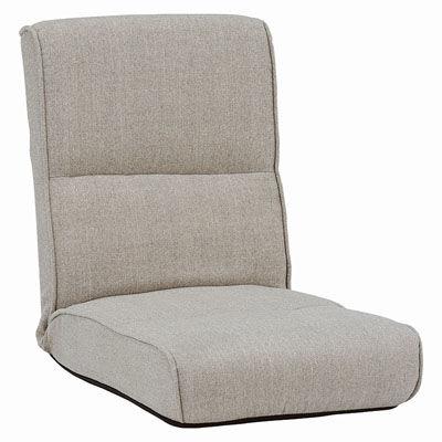HAGIHARA(ハギハラ) 【5個セット】座椅子(ベージュ) LZ-4691BE 2101719400