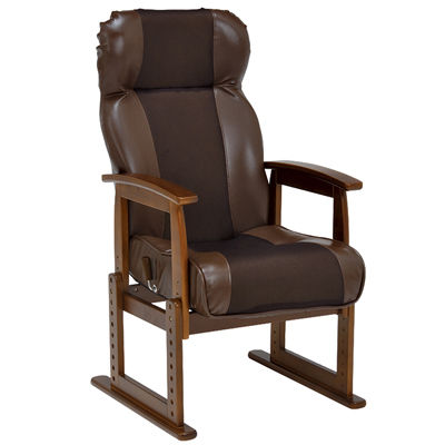 HAGIHARA(ハギハラ) 高座椅子(ブラウン) LZ-4728BR 2101737000