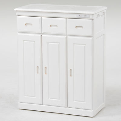 HAGIHARA(ハギハラ) キッチンカウンター(ホワイト) MUD-6133WH 2101692400