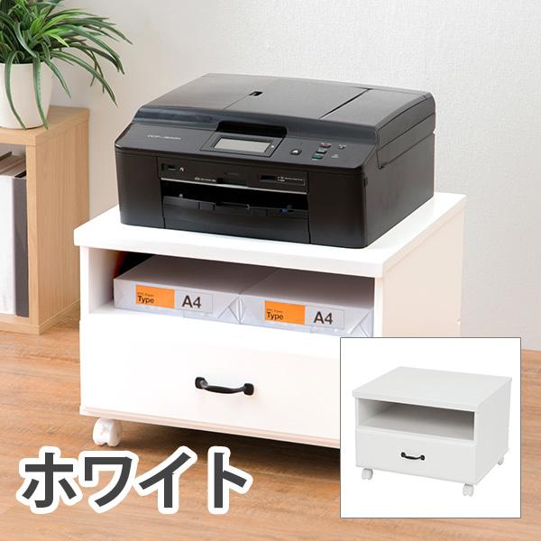 HAGIHARA(ハギハラ) プリンターワゴン(ホワイト) MUD-6207WH 2101631400