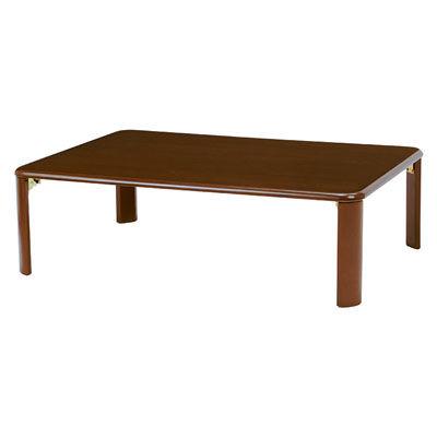 HAGIHARA(ハギハラ) 折れ脚テーブル(ダークブラウン) VT-7922-105DBR 2090827400