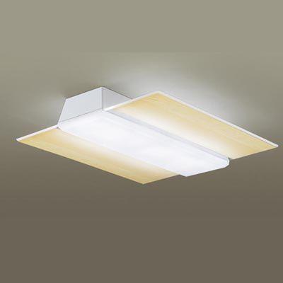 パナソニック 天井直付型 LED(昼光色・電球色) シーリングライト リモコン調光・リモコン調色 パネル付型 ~12畳 LGBZ3186