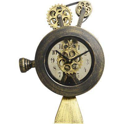 ハットトリック 置時計 ロトリング ギアー クロック B AA-39695