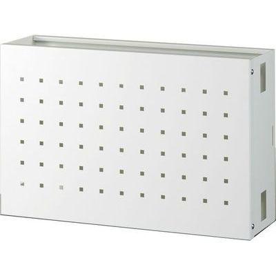 オーロラ 天吊りハンガーオプション 機器ボックス大型タイプ ホワイト FH-S2