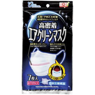 その他 【320個セット】日本製 高密着エアクリーンマスク7枚入 MRTS-31491