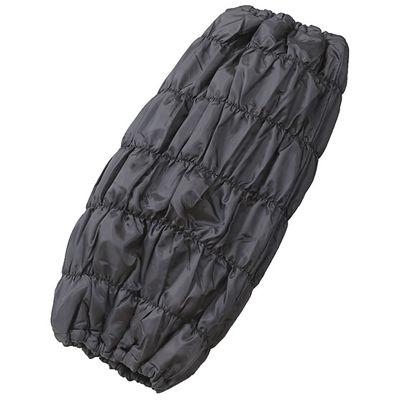 富士パックス販売 オーラ岩盤 あったかボディチューブ ブラック h875-BK