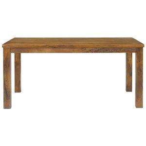 その他 木目調ダイニングテーブル/リビングテーブル 【長方形/幅150cm】 木製 『texens』 【代引不可】 ds-1831959