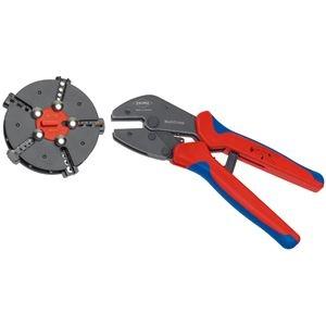 その他 KNIPEX(クニペックス)9733-02 マルチクリンプ マガジン式圧着工具 ds-1850501