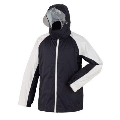 スミクラ 防水透湿 レインスーツ ネイビー L (165~175cm) 全2色 7サイズ 収納袋付き 2層レイヤー EE-04163