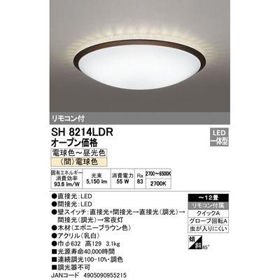 ODELIC デザインシーリングライト ~12畳用 SH8214LDR【納期目安:1週間】