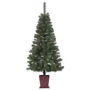 その他 クリスマスツリー/オブジェ 【210cmサイズ】 四角ポット付き 『カナディアンツリー』 〔イベント パーティー〕 ds-1874628