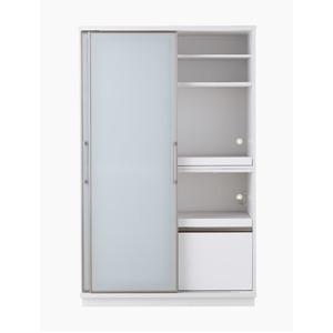 その他 【開梱設置費込】食器棚 ACシリーズ 122cm幅 目隠し収納 キッチンボード ホワイトボード 【日本製】【代引不可】 ds-1878965