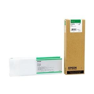 その他 エプソン インクカートリッジ グリーン 700ml (PX-H10000/H8000用) ICGR58 ds-1891787