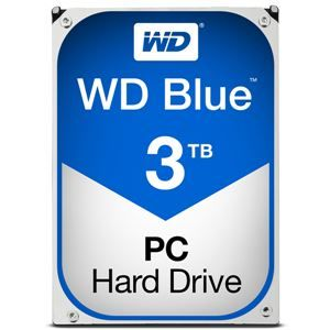 その他 WESTERN DIGITAL WD Blueシリーズ 3.5インチ内蔵HDD 3TB SATA3(6Gb/s) 5400rpm64MB WD30EZRZ-RT ds-1889397
