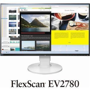 その他 EIZO 68.5cm(27.0)型カラー液晶モニター FlexScan EV2780 ホワイト EV2780-WT ds-1890628
