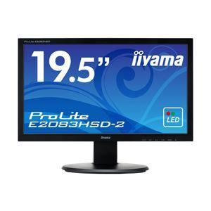 その他 iiyama 19.5型ワイド液晶ディスプレイ ProLite E2083HSD-2 (LED)マーベルブラック E2083HSD-B2 ds-1891546