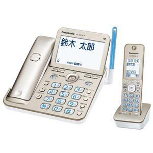 その他 パナソニック コードレス電話機(子機1台付き)(シャンパンゴールド) VE-GD76DL-N ds-1891671