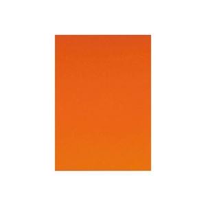 その他 (業務用10セット) キッズ カラー工作用紙 20枚入 橙 ds-1913213
