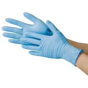 その他 (業務用20セット) 川西工業 ニトリル極薄手袋 粉なし BS #2039 Sサイズ ブルー ds-1914655