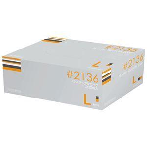 その他 川西工業 プラスティックグローブ #2136 L 粉付 15箱 ds-1915763