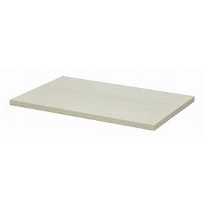 その他 テーブルキッツ テーブル用天板 【Sサイズ ホワイト】 幅100cm×奥行65cm×高さ3.5cm メラミン製 【代引不可】 ds-1922683