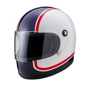 その他 ヤマシロ(山城) オートパーツ ニューレトロフルフェイスヘルメット 750アオ XLサイズ ds-1934009