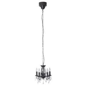 その他 シャンデリアライト/ペンダントライト 【ブラウン】 LED電球対応可 『エンパイア』 LHT-703ABR ds-1937399