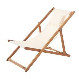 その他 天然木デッキチェア(折りたたみ椅子) 木製/アカシア NX-512 〔アウトドア キャンプ お庭 テラス〕 ds-1937498