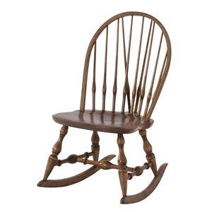 その他 天然木ロッキングチェア(揺り椅子) 座面高37cm アンティーク調 『ティンバー』 TTF-909 ds-1937818