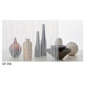 その他 幾何柄 飛散防止ガラスフィルム サンゲツ GF-744 92cm巾 7m巻 ds-1942377
