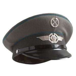 その他 東ドイツ軍 放AF制帽未使用デットストック 57cm ds-1942690