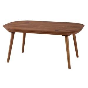 その他 木目調こたつテーブル/ローテーブル 本体 【幅90cm×奥行60cm】 木製 ds-1947109