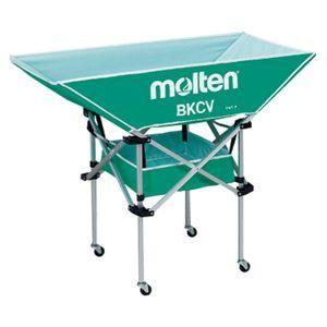 その他 モルテン(Molten) 折りたたみ式平型軽量ボールカゴ(背高) 緑 BKCVHG ds-1947274