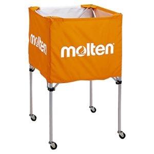 その他 モルテン(Molten) 折りたたみ式ボールカゴ(中・背高 屋内用) オレンジ BK20HO ds-1947980
