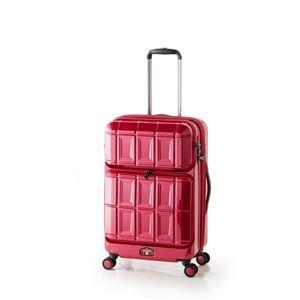 その他 スーツケース 【パープリッシュピンク】 拡張式(54L+8L) ダブルフロントオープン アジア・ラゲージ 『PANTHEON』 ds-1950541