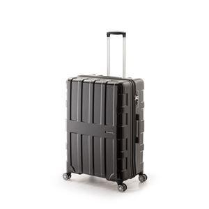 その他 大容量スーツケース/キャリーバッグ 【オールブラック】 96L 軽量 アジア・ラゲージ 『MAX BOX』 手荷物預け無料最大サイズ ds-1950603