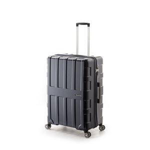 その他 大容量スーツケース/キャリーバッグ 【オールネイビー】 96L 軽量 アジア・ラゲージ 『MAX BOX』 手荷物預け無料最大サイズ ds-1950606