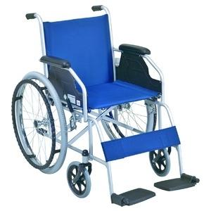 その他 自走式 車椅子 【テイコブ標準型】 折り畳み スチール製 SG取得商品 〔介護用品 福祉用品〕 ds-1952233