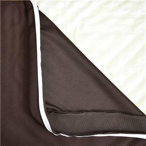 その他 リバーシブルウレタンマットレス 【シングル ブラウン】 洗える カバー付き 通気性抜群 体重分散/体圧分散 ベッド対応 敷物 ds-1955200