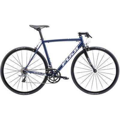 FUJI 2018年モデル ルーベオーラ(ROUBAIX AURA) 52cm 2x8speed ミッドナイトブルー クロスバイク 18ROBABL52