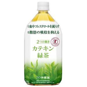 その他 【まとめ買い】伊藤園 2つの働き カテキン緑茶 PET 1.05L×24本(12本×2ケース) ds-1953846