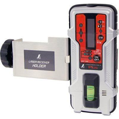シンワ測定 レーザーレシーバーPlus (赤色レーザー専用受光器) 71500