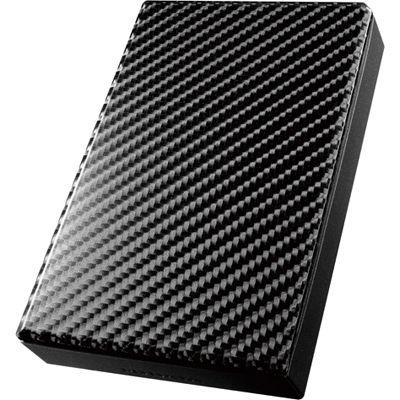 アイ・オー・データ機器 USB 3.0/2.0対応ポータブルハードディスク「高速カクうす」カーボンブラック 2TB HDPT-UT2DK