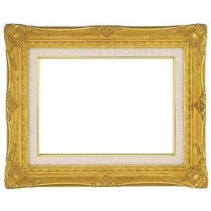 その他 油絵額縁/油彩額縁 【P15 ゴールド】 表面カバー:アクリル 吊金具付き ds-1986160