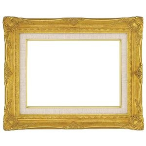 その他 油絵額縁/油彩額縁 【M20 ゴールド】 表面カバー:アクリル 吊金具付き ds-1986163