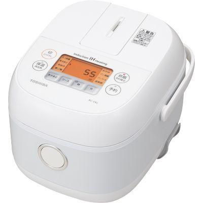 東芝 IHジャー炊飯器(3合炊き) (ホワイト) RC-5XL-W【納期目安:約10営業日】