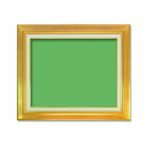 その他 【油額】油絵額・キャンバス額・金の油絵額・銀の油絵額 ■M8号(455×273mm)「ゴールド」 ds-1988371