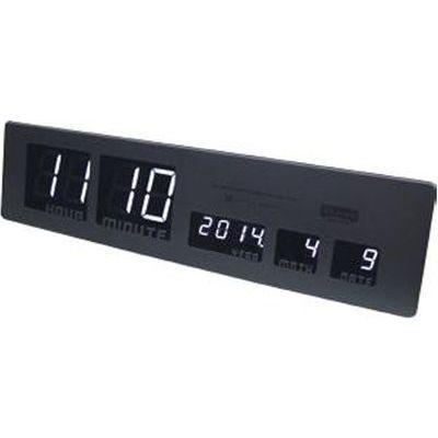 スロウワー SLOWER(スロウワー) LED クロック アスカリ ブラック EE-05801