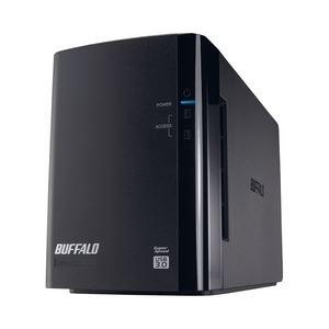その他 バッファロー ドライブステーション ミラーリング機能搭載 USB3.0用 外付けHDD 2ドライブモデル6TB HD-WL6TU3/R1J ds-834005